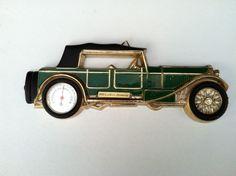 1930 Lancia Dilambda Decorative Thermometer Tulip Brands Excellent Condition #Tulip