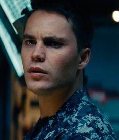 Taylor Kitsch. i just really liked him in Battleship