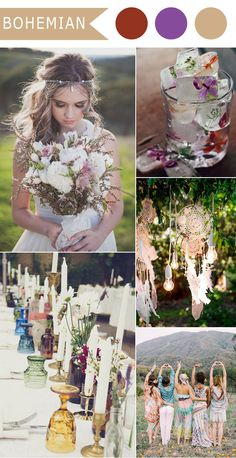 chic boho wedding theme ideas for 2016