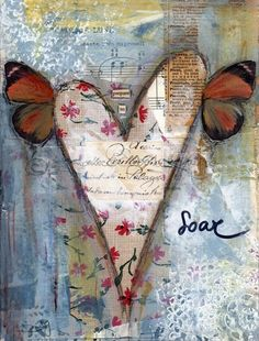 Mixed Media Painting. Art Print. Inspirational Art. Mixed Media Art. Prepare To Soar.
