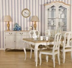 Painted French Dining Room Furniture