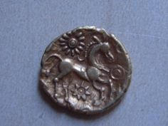 Celtic coin - they really loved their horses...