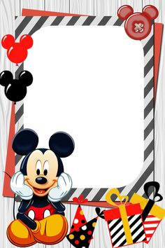 Mickey Mouse Template, Mickey Mouse Crafts, Mickey Mouse Invitation, Mickey Mouse Cake, Mickey Mouse Clubhouse Birthday Party, Mickey Party, Mickey Mouse Birthday, Mickey Mouse Baby Shower, Baby Mouse