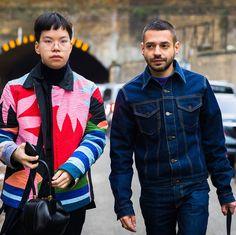 いいね!1,664件、コメント6件 ― New York Times Fashion & Styleさん(@nytimesfashion)のInstagramアカウント: 「Bryant Lee and Stavros Karelis at Craig Green FW18. Photo by Acielle @styledumonde」