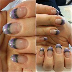 Color nail tip