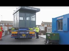 Glasdon | Construction & Delivery | Warrior™ modular steel building - YouTube http://www.youtube.com/watch?v=w7u3A4nLEa4