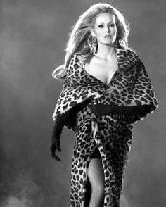 #Ursula Andress animal print leopard print cheetah print