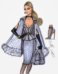 #Hayden Williams Fashion Illustrations #'In Rare Form' by Hayden Williams