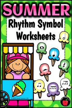 Distance Learning SUMMER Music Worksheets Rhythm Activities End of the Year Music Sub Plans, Music Lesson Plans, Music Lessons, Music Theory Games, Rhythm Games, Elementary Music, Elementary Education, Music Activities For Kids, Music Worksheets