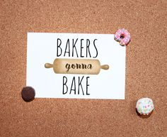 Bakers Gonna Bake 🙌🏻... or if you're like me, taste testers are gonna taste! 😂 Specifically prior to the oven stage... 🙈anyone else? . Get it at alittleleafy.etsy.com ❤️ Push Pins handmade by @theartyhedgehog 💕 . . . . . #alittleleafy #bakersgonnabake #baking #bakery #foodie #baker #cake #bakerslife #sweettooth #bakersofinstagram #huffposttaste #homemade #cookies #dessert #cakestagram #yummy #cupcakes