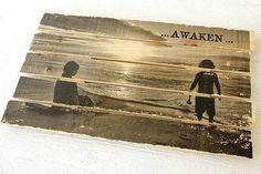 Aprenda a passar fotos para a madeira (Foto: Reprodução/Pinterest)