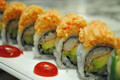 I want to learn how to make sushi! Sushi recipes: spicy california roll