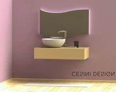 La Cesini Design realizza modelli personalizzabili con la forma e le dimensioni preferite; grazie all'aiuto di strumenti CAD siamo in grado di mostrarvi come sarà il vostro specchio - Cesini Design produces costumizable templates with the help of CAD tools we can show you how to be your mirror