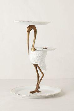 Slide View: 4: Tiered Crane Sculpture