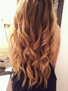 I LOVE mermaid curls.