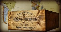 A couple of posts ago,   I explained how totransferimages onto wood with contact pape r,   which I used to make my vintage French wine t...