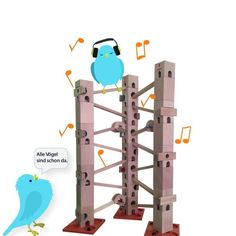 Stream Alle Voegel sind schon da, mit Flöte - a folksong played with Xyloba, accompanied by a flute by Xyloba - The marble run, that makes music. from desktop or your mobile device Desktop, Flute, Bookends, Play, Music Instruments, Games, Studying, Bird, Desk