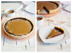 With a tender crust, a rich chocolate ganache filling, and a salty sweet drizzle of caramel and sea salt, this classic French Salted Caramel Chocolate Tart is sure to be a few favorite.