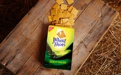 MONDELEZ  |  Wheat Thins Bold. Rebrand by Davis.