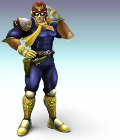 Mr. Handsome (Captain Falcon)