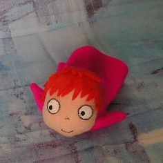 Great site with lots of tutorials of felt stuffed toys! Really awesome! It's a little Ponyo~