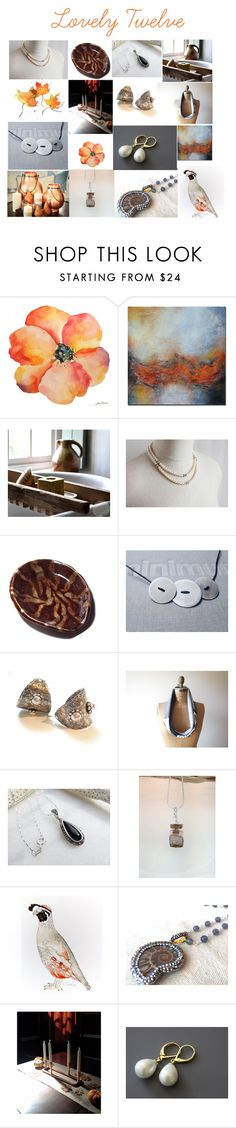 """""""Lovely Twelve"""" by ameliabathandbody ❤ liked on Polyvore featuring Hostess and Rustico"""