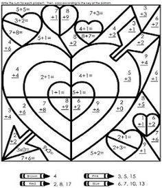 Valentines Day worksheet  - FREE Printable