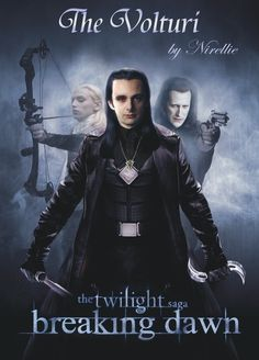 The Volturi Breaking Dawn - the-volturi fan art... best picture of the 3 ancients I have EVER seen!!!