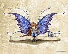 Canvas Wall Art, Wall Art Prints, Canvas Prints, Fantasy Paintings, Fantasy Art, Elves Fantasy, Amy Brown Fairies, Dark Fairies, Unicorns And Mermaids