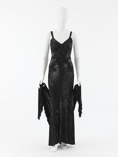 "Evening ensemble  House of Chanel  (French, founded 1913)  Designer: Gabrielle ""Coco"" Chanel (French, Saumur 1883–1971 Paris) Date: 1935"