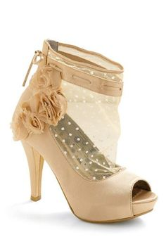 wonderful shoes from Polkadot Wedding Shoes Spring 2012 collection. - Via Offbeat Bride my wedding shoes!