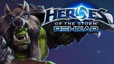 Heroes of the Storm  - Rehgar (Hero League - Preseason)