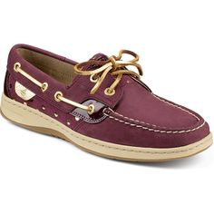 Sperry Top-sider Bluefish 2-eye Brown White Leather Boat Shoe Women's Size 8 Euc Elegant And Graceful Flats