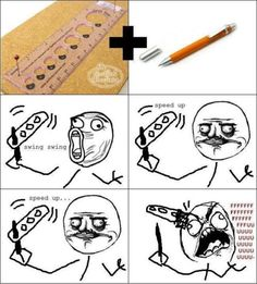 hahahaha! definitely did this in middle school!