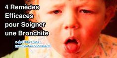 Vous cherchez des solutions naturelles pour soulager les symptômes de la bronchite ? Découvrez l'astuce ici : http://www.comment-economiser.fr/4-remedes-naturels-efficaces-pour-soigner-bronchite.html?utm_content=buffer8c964&utm_medium=social&utm_source=pinterest.com&utm_campaign=buffer