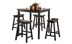 Conrad Pub Table: Would love to put a table like this in our little breakfast nook off the kitchen.