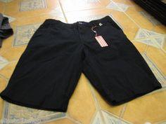 Men's RARE Modern Amusement black walk casual shorts 34 CROW NEW NWT surf skate