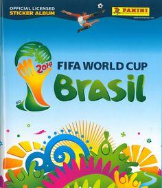 2014 FIFA World Cup Brasil. Sticker album from Panini.