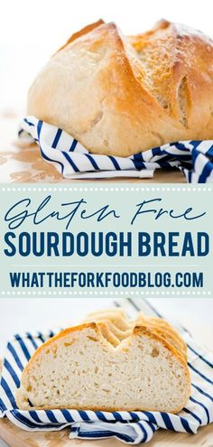 A Gluten Free Sourdough Bread recipe is perfect if you're new to sourdough bread baking. Easy to make with simple directions and schedule. Gluten Free Cooking, Dairy Free Recipes, Easy Sourdough Bread Recipe, Gluten Free Bread Recipe Easy, Gluten Free Breads, Gluten Free Yeast Rolls, Gluten Free Artisan Bread, Dairy Free Bread, Patisserie Sans Gluten