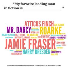 Mr. Darcy (and I'd add William Parry and Bean to this list).  I'd like to check out some of these other series.