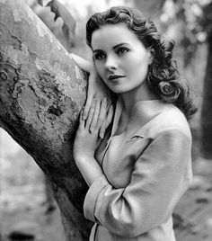 """Jeanne Crain had a career spanning three decades. I remember her from 1945's """"State Fair"""". She had a rocky relationship with her husband and they later lived apart though still married. They had seven children. She died in 2003 at the age of 79."""