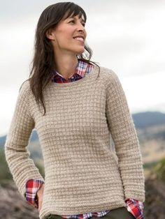 Winnipeg Knitted Pullover Pattern | InterweaveStore.com