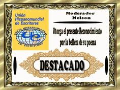 Patria cobijo de menesterosos - UNIÓN HISPANOMUNDIAL DE ESCRITORES. UHE Social Security, Personalized Items, Cards, Door Prizes, Writers, Map
