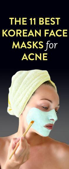 The 11 Best Korean Face Masks For Acne