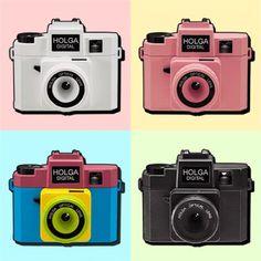 【Holga Digital】あのトイカメラがデジタルに!全世界初回生産分を先行発売!!