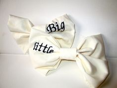 Big/Little Bows
