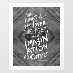 Imagination all Compact Art Print by Holly Press - $17.68