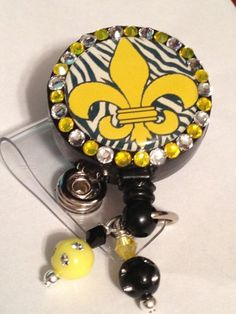 Bling Retractable Badge Reels  | Christysglitz - Accessories on ArtFire