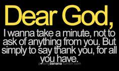 Thank you Baby Jesus.