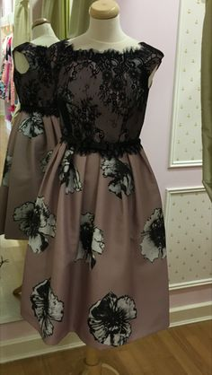 About Me: Black Lace bodice over dusky pink with eyelash trim over midi skirt with pockets in the seam, thin satin belt to bring in the waist. Midi Skirt With Pockets, Lace Bodice, Summer Dresses, Formal Dresses, Peony, Satin, Skirts, Black, Fashion